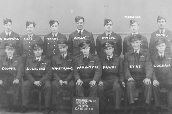 Percy Cato was on the 19 OTU Pilots course No 34 dated 22 Mar 1942 and was posted to 102 Squadron